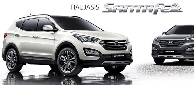 Naujasis Hyundai Santa Fe