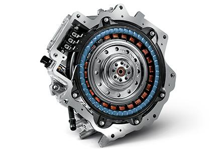 Hyundai IONIQ plugin elektrinis variklis