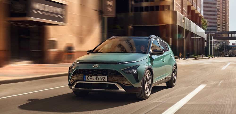 Naujasis Hyundai BAYON dinamika