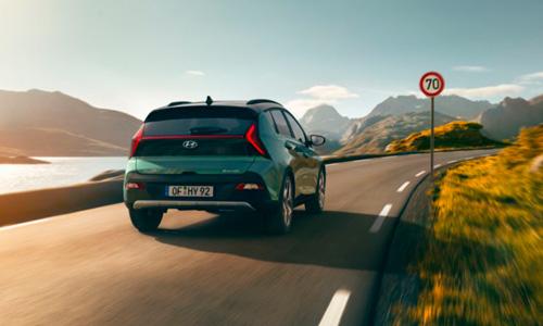 Naujasis Hyundai BAYON pavažiavimo režimas