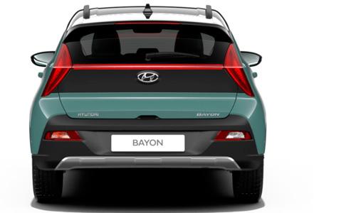 Naujasis Hyundai BAYON išorė galas