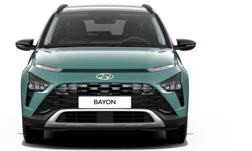 Naujasis Hyundai BAYON išorė priekis