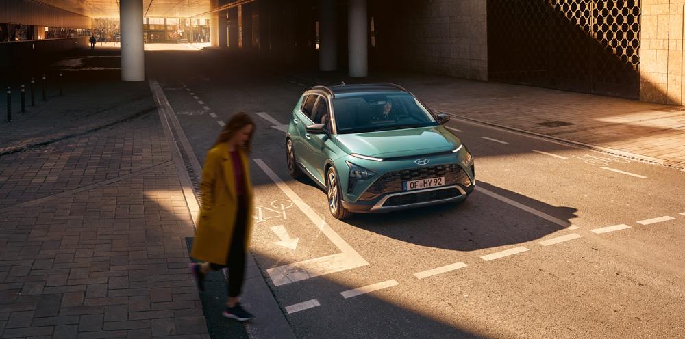 Naujasis Hyundai BAYON sauga