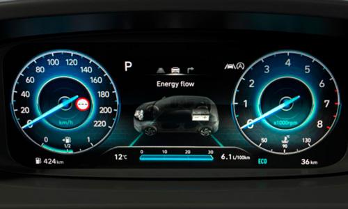 Hyundai BAYON skaitmeninis prietaisų skydelis 10.25col