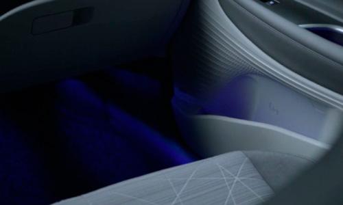 Naujasis Hyundai BAYON LED aplinkos apšvietimas