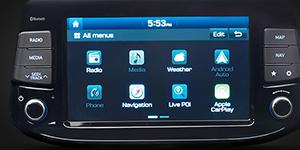 Hyundai i30 Fakto Auto  multimedia ekranas