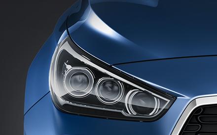 Hyundai i30 Fakto Auto  led žibintai