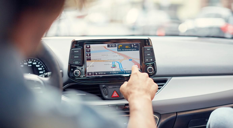 Hyundai i30 navigacija