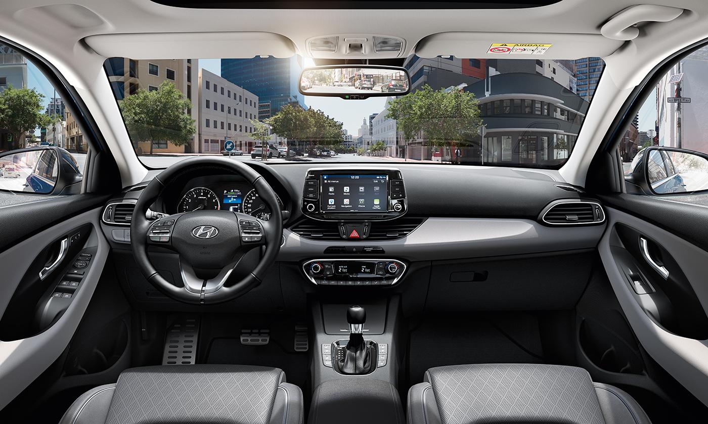 Hyundai i30 Fakto Auto  salonas
