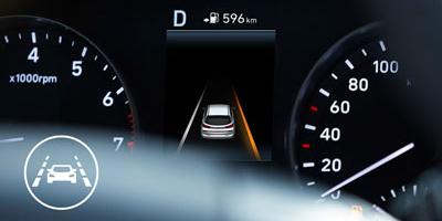 Važiavimo juostos laikymosi sistema su kelkraščio stebėjimo funkcija (LKA-L/R)