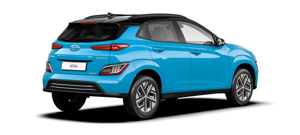 Hyundai KONA Electric my21 aptakus aerodinamiškas dizainas