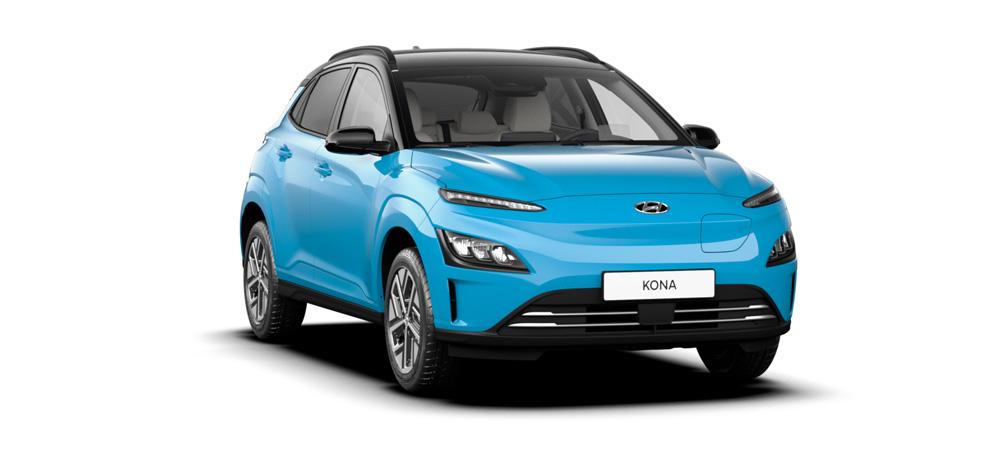 Hyundai KONA Electric my21 elegantiškas miesto krosoveris