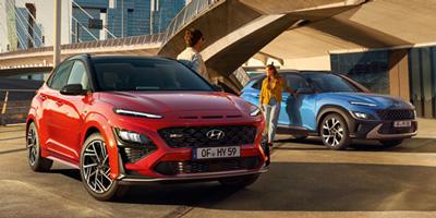 Hyundai KONA automobilų šeima