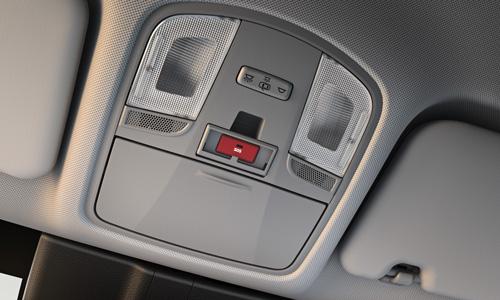 Hyundai KONA Electric MY21 eCall saugai ir saugumui