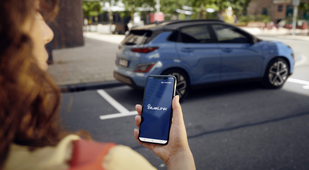 Naujasis Hyundai KONA MY21 susiejimas