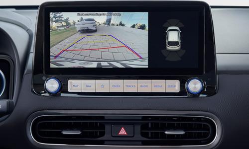 Hyundai KONA Electric galinio vaizdo monitorius