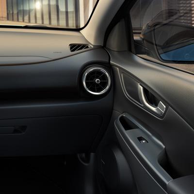 Hyundai KONA Electric vieno atspalvio juoda
