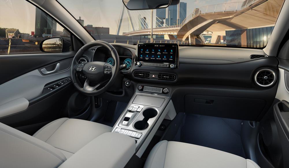 Hyundai KONA Electric vidus