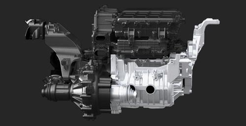 Hyundai KONA electric elektrinis variklis