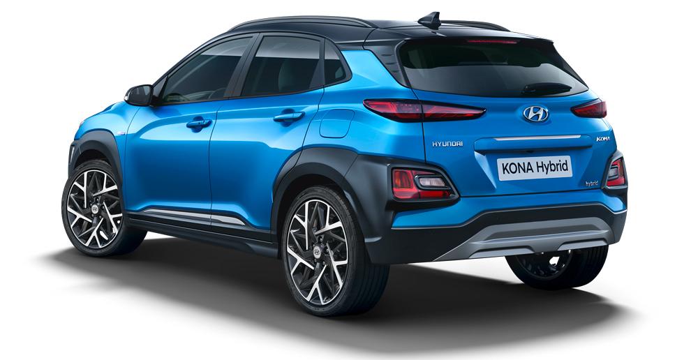 Hyundai Kona Hybrid galas