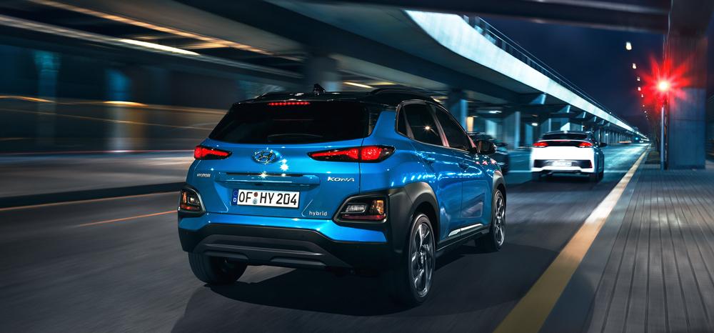 Hyundai Kona Hybrid saugumas