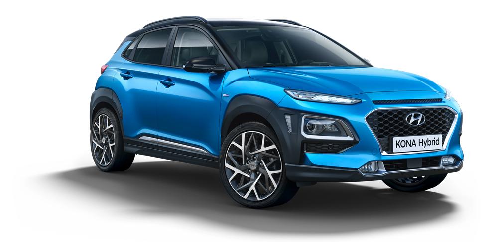 Hyundai KONA Hybrid išorė fakto auto