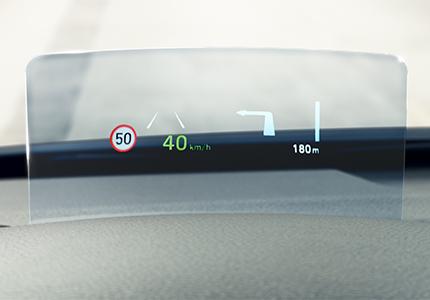 Hyundai Kona hubrid Projekcinis ekranas