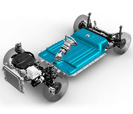 Hyundai KONA electric EV  elektromobilis akumuliatorius