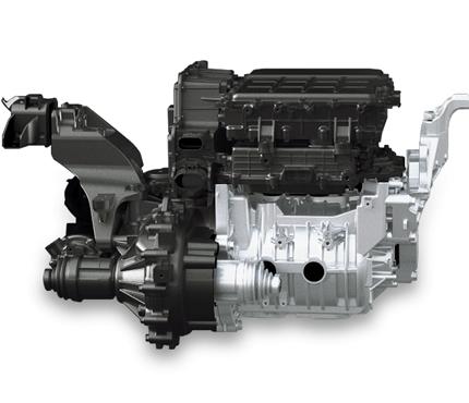 Hyundai KONA electric EV  elektromobilis elektrinis variklis