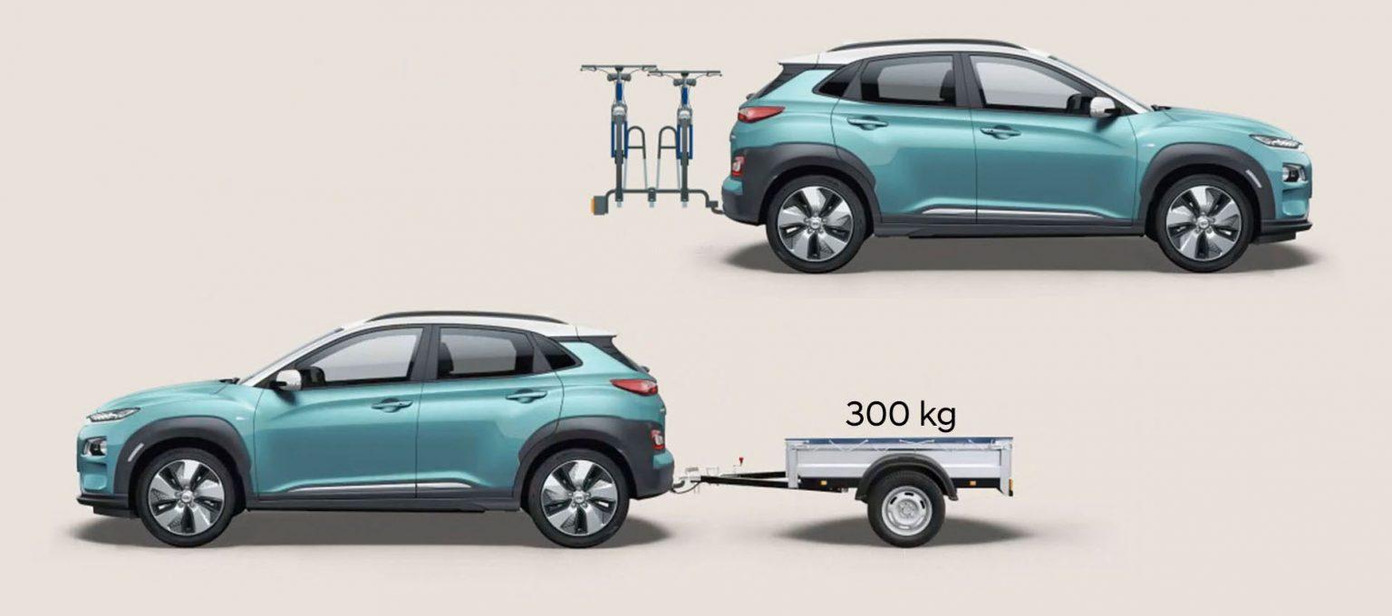 Hyundai KONA electric EV  miesto automobilis