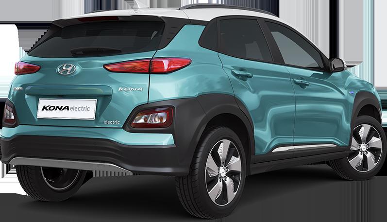 Hyundai KONA electric EV  elektromobilis dizainas