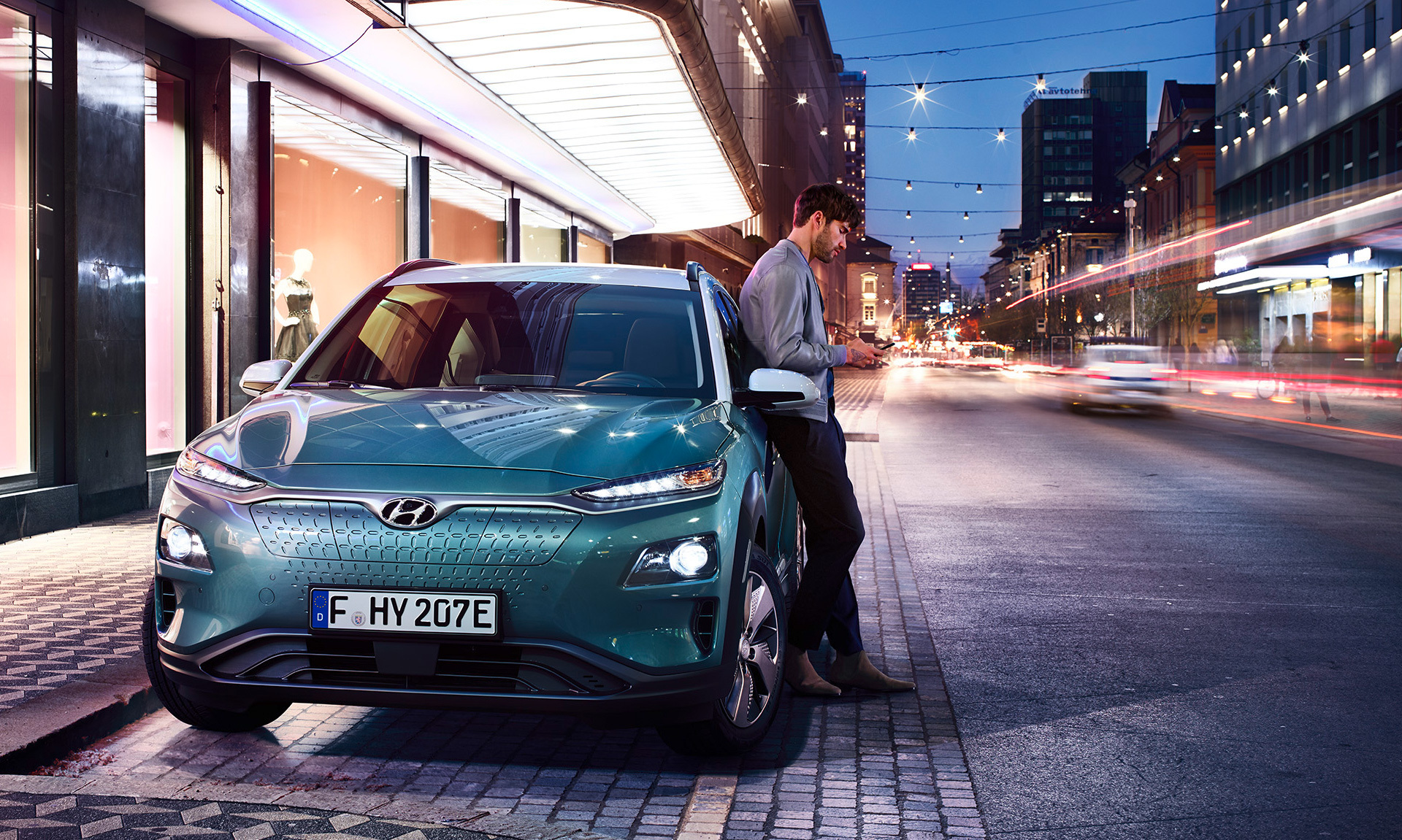 Hyundai KONA electric EV  elektromobilis