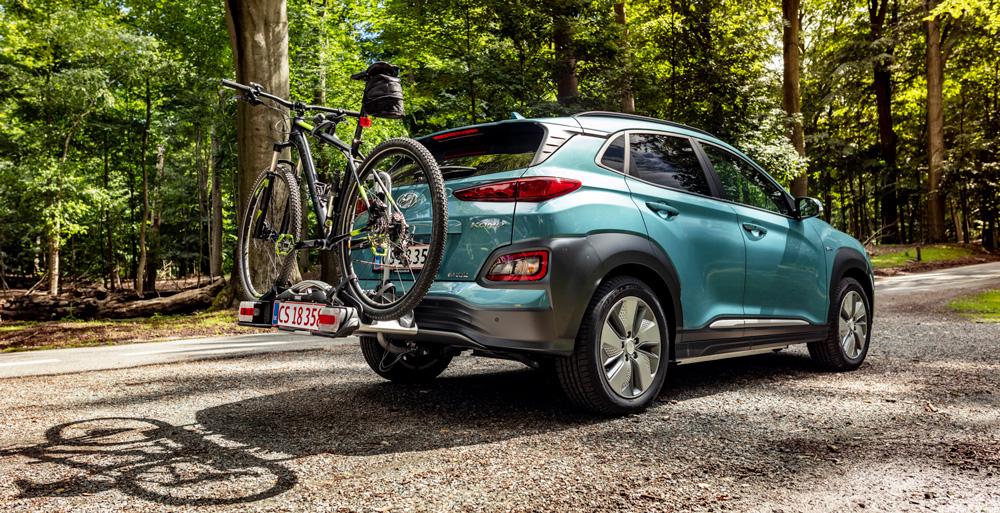 Hyundai KONA electric EV  elektromobilis komfortas