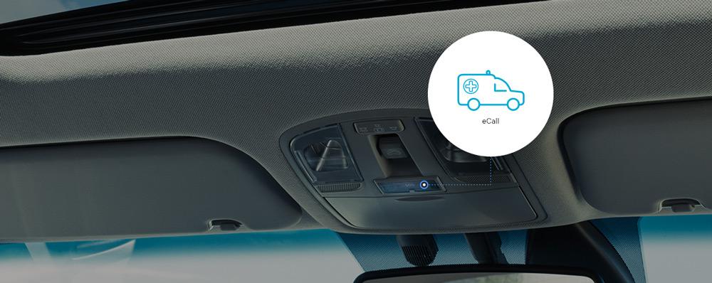 """Hyundai """"eCall"""" saugai ir saugumui"""