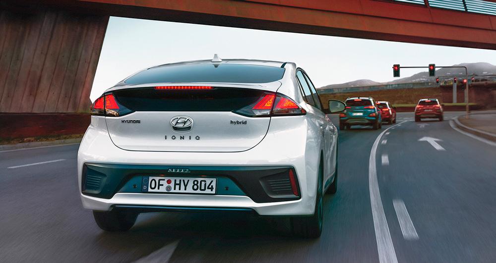 Reguliuojamas rekuperacinis stabdymas Hyundai IONIQ