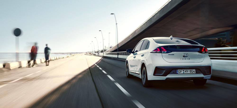 Hyundai IONIQ technologijos