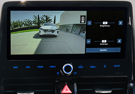 Hyundai IONIQ Galinio vaizdo veidrodėlio stebėjimo sistema