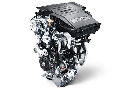 Hyundai IONIQ Hybrid variklis