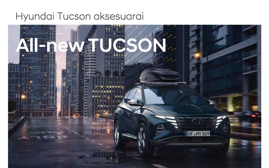 Hyundai Tucson aksesuarai