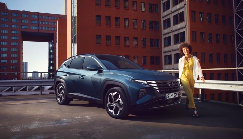 Naujasis Hyundai Tucson salono estetika