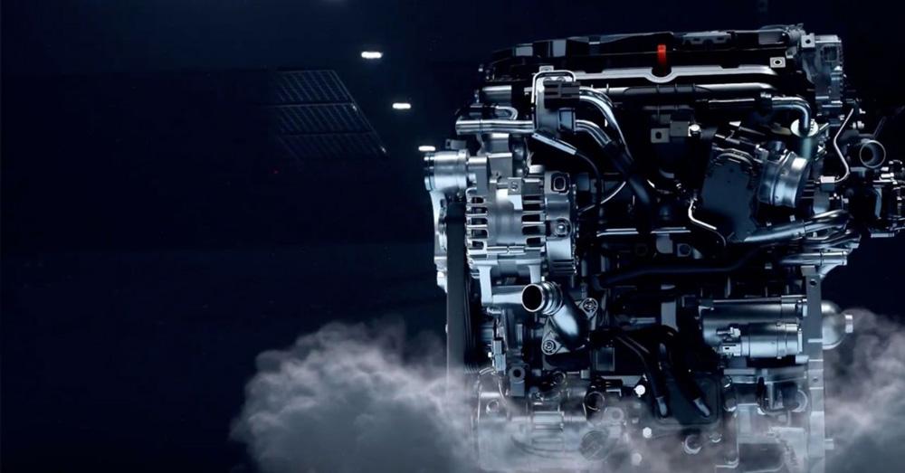Naujasis Hyundai Tucson dinamika kintamas vožtuvų darbinis laikas