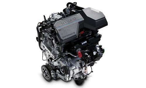 Naujasis Hyundai Tucson hibridas Benzininis variklis