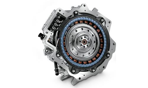 Naujasis Hyundai Tucson Elektrinis variklis