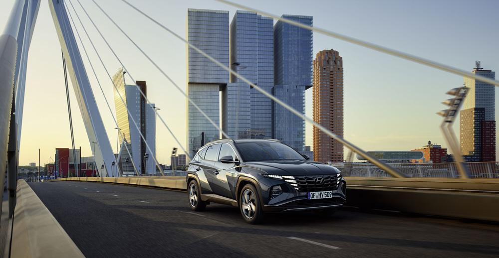 Naujasis Hyundai Tucson hibridas