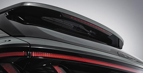 Naujasis Hyundai Tucson paslėpti galiniai valytuvai