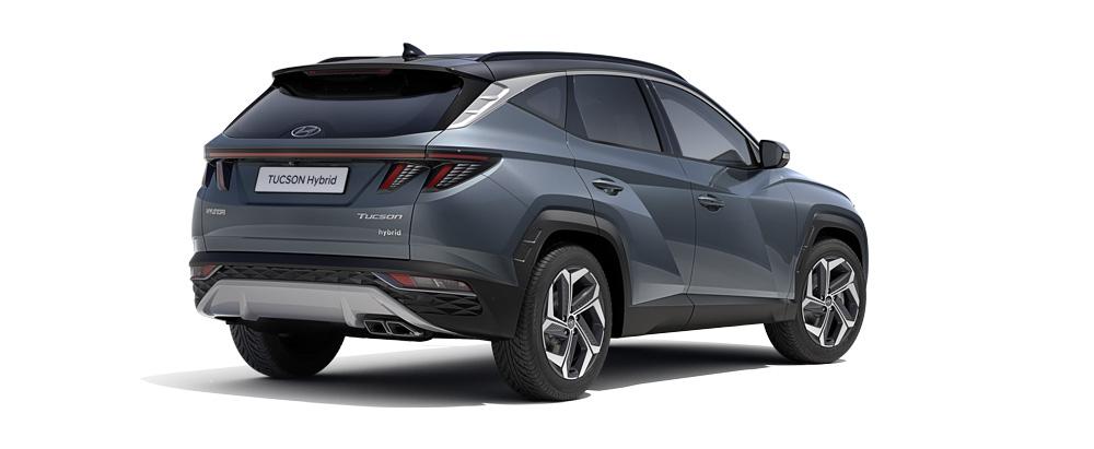 Naujasis Hyundai Tucson galo dizainas