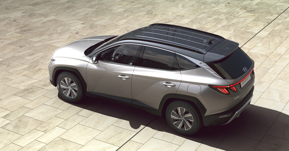 Hyundai Tucson suasmeninkite
