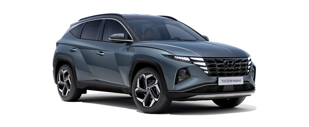 Hyundai Tucson išvaizda modernios linijos