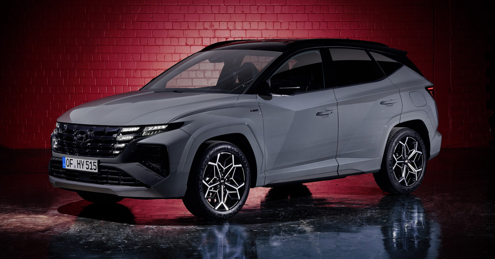 Naujasis Hyundai Tucson N LINE