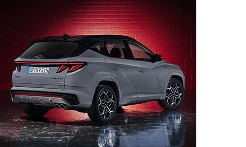 Naujasis Hyundai Tucson N LINE galas